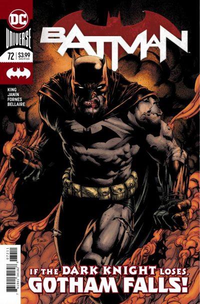 Batman #72 cover