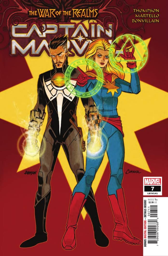 Captain Marvel #7 cover art