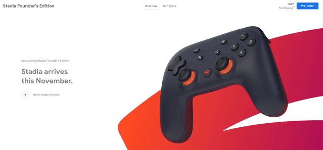 google console gaming founders edition