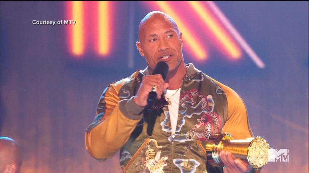 MTV Movie & TV Awards: The Rock