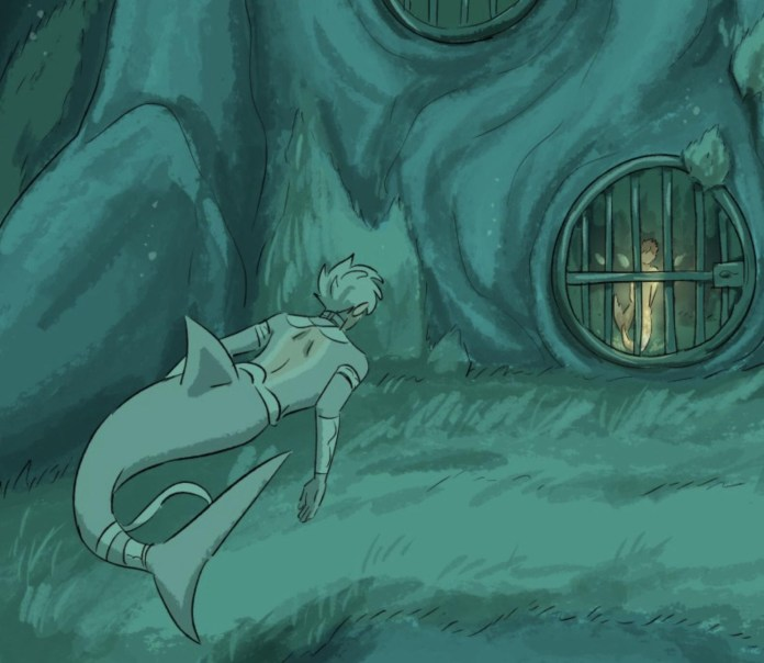 Image from Castle Swimmer
