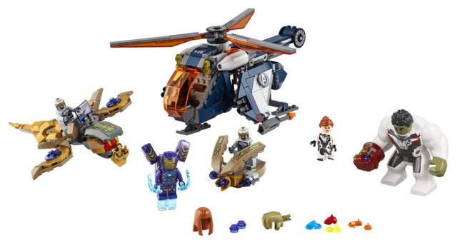 Lego Avengers Endgame Hulk Helicopter Drops Early At Sdcc 2019 The Beat