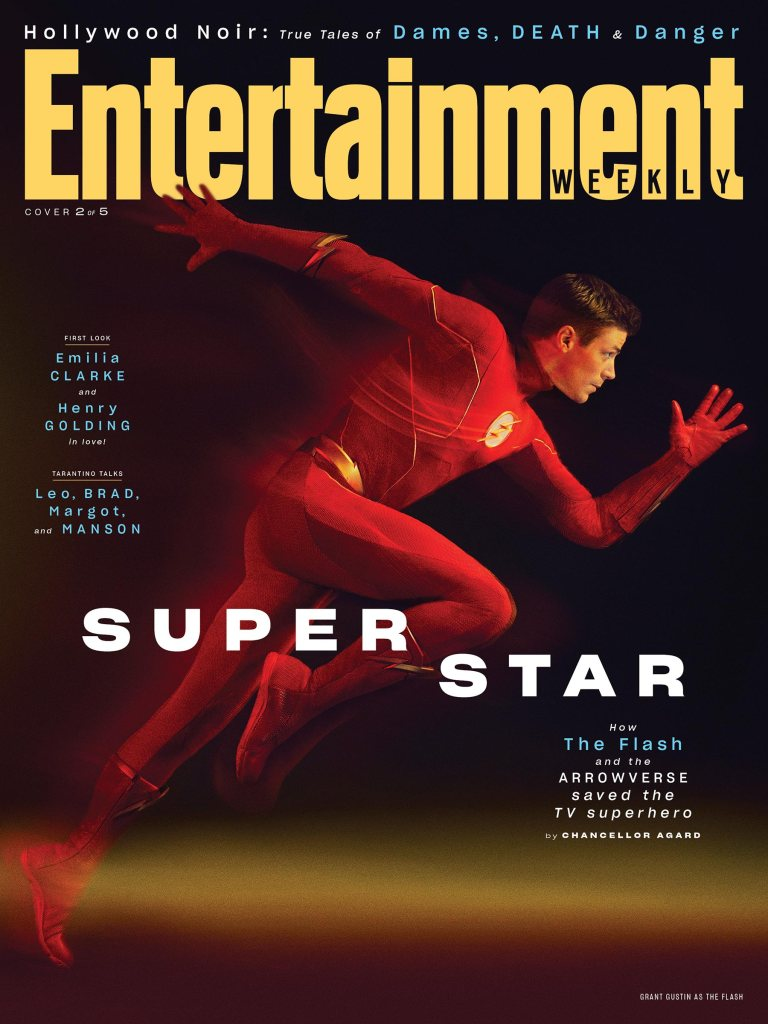 Grant Gustin as Barry Allen/The Flash