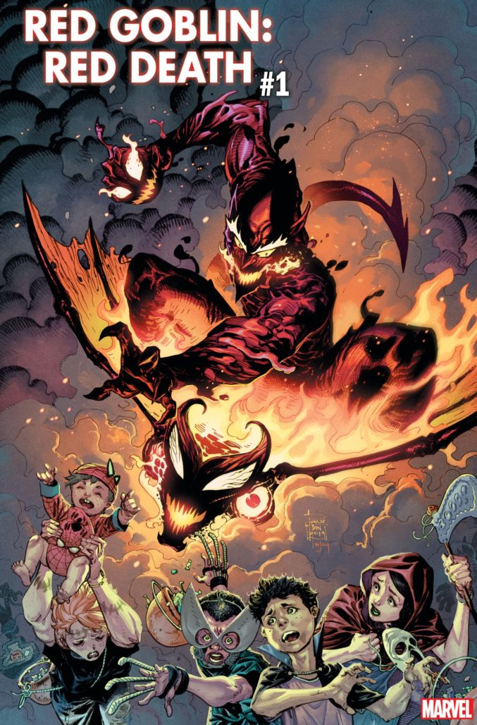 Red Goblin: Red Death #1 Cover