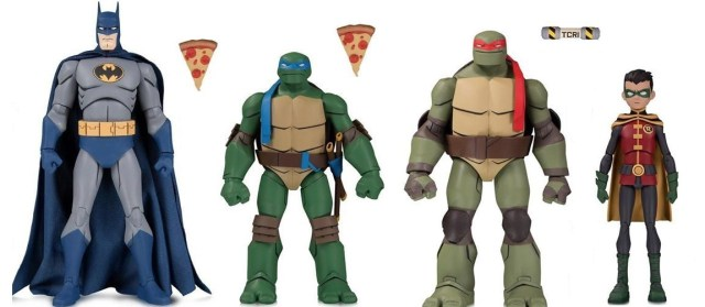 Gnarly! BATMAN VS. TMNT toy line hits shelves this fall!