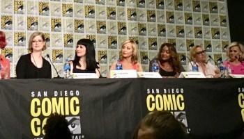 DC Super Hero Girls panel