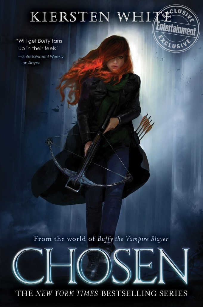 Cover for CHOSEN, the latest Buffyverse novel