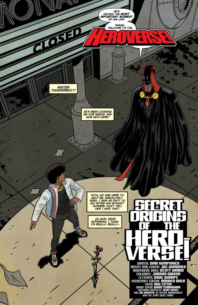 Dial H For Hero #5 Exclusive Preview