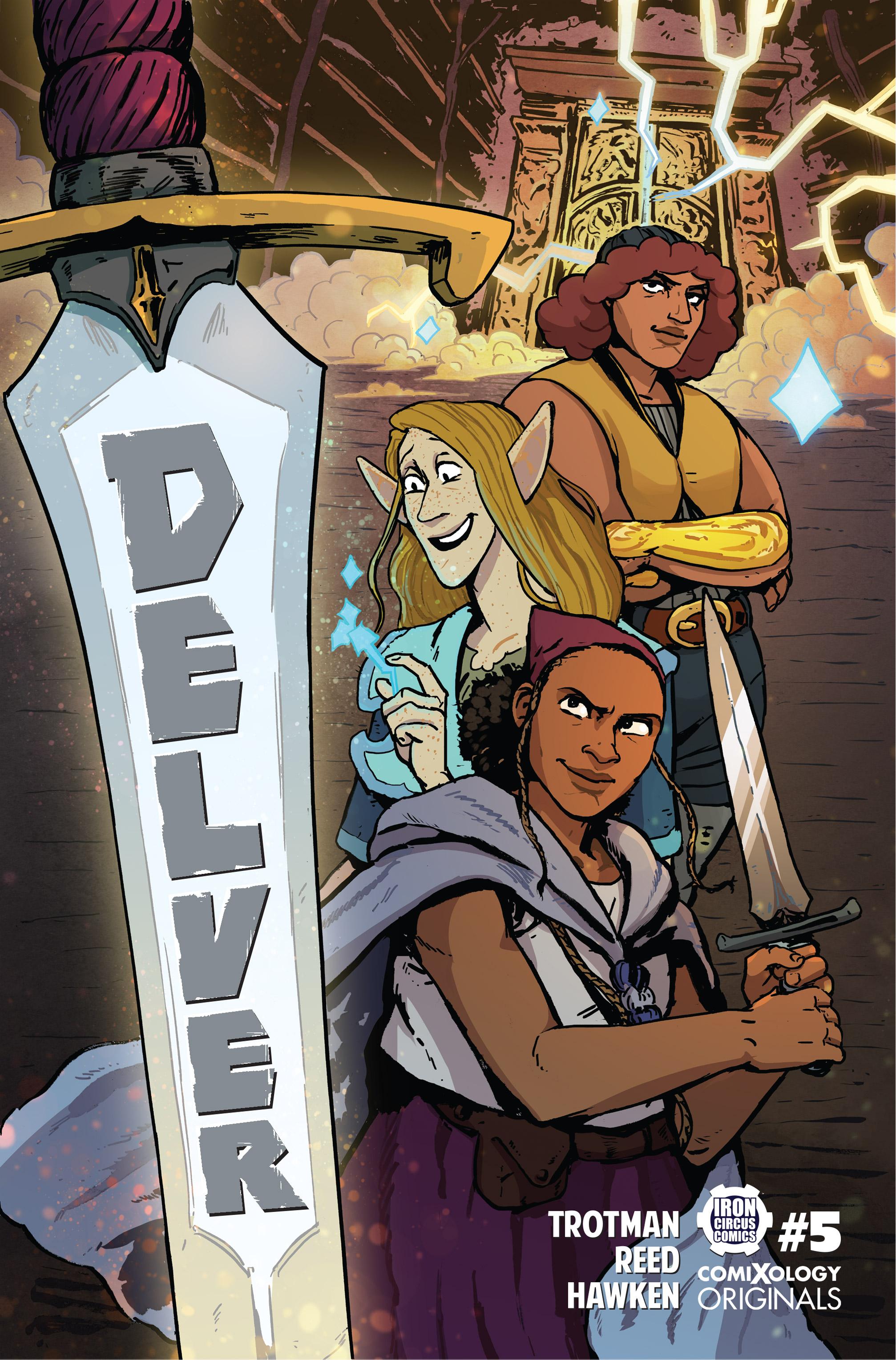 Delver #5 cover