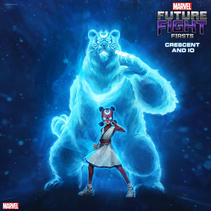 Marvel Future Fight: Crescent & Io #1