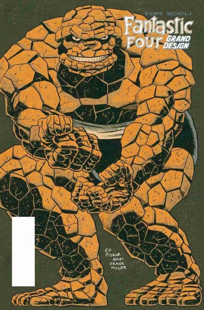 Fantastic Four Grand Design #1 Ed Piskor Variant