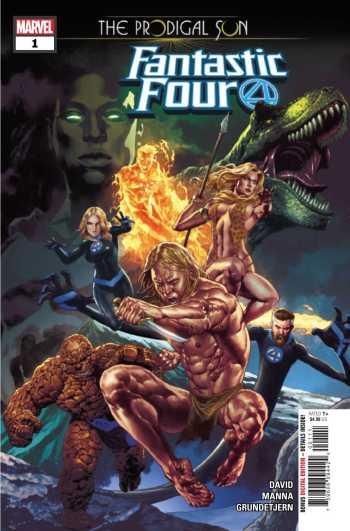 Fantastic Four The Prodigal Sun #1