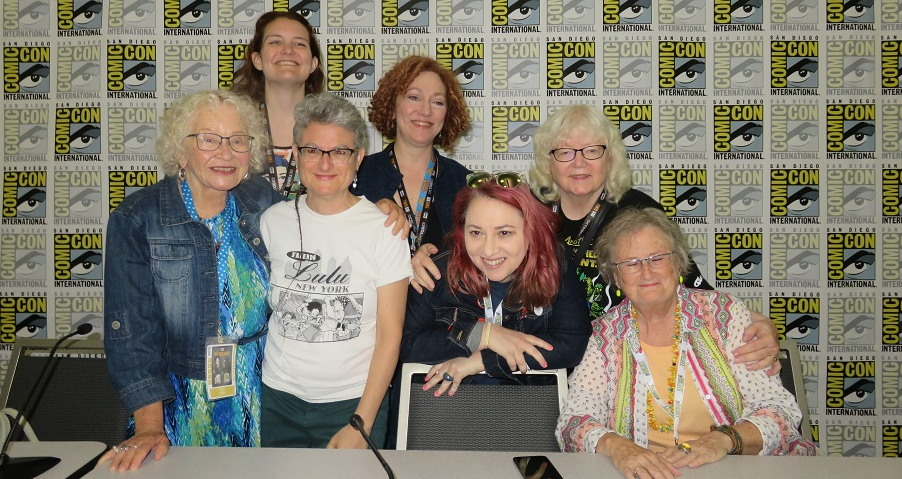 friends of lulu sdcc panel audio Trina Robbins, Alexa Dickman, Liz Schiller, Anina Bennett, Heidi MacDonald, Jackie Estrada, Lee Marrs