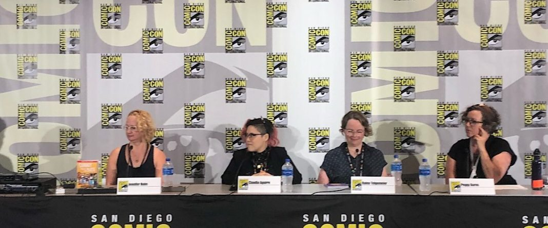 SDCC '19 Panel Feminist Comics That Rock