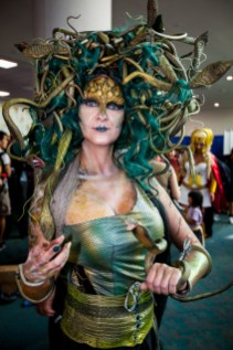 Day 3 in photos - Medusa cosplay