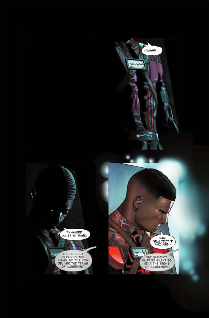 Miles Morales: Spider-Man #8 preview page 1