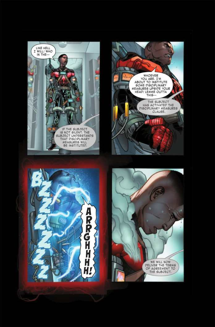 Miles Morales: Spider-Man #8 preview page 2