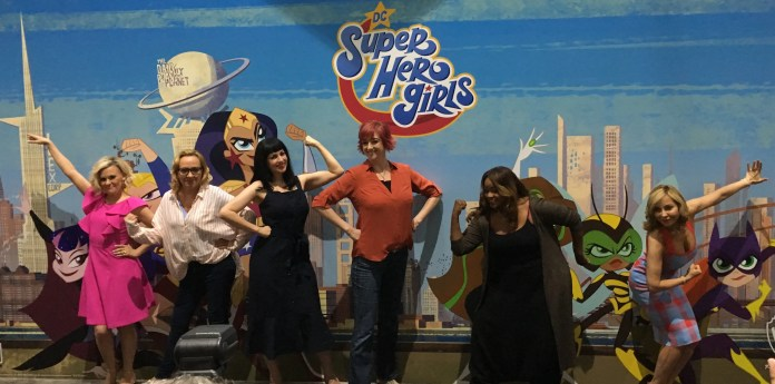 DC Super Hero Girls panel