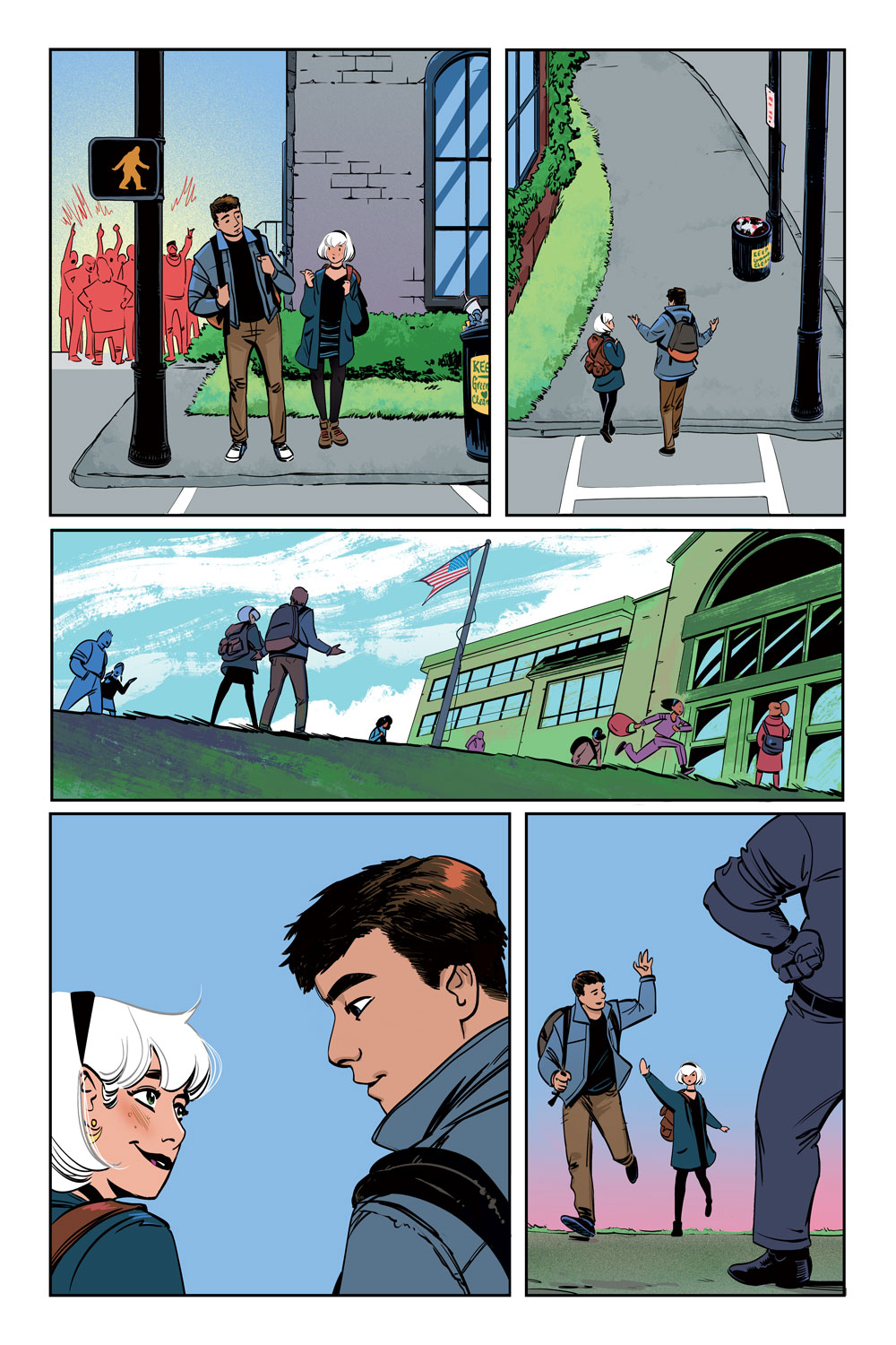 Sabrina the Teenage Witch #4 preview page 1