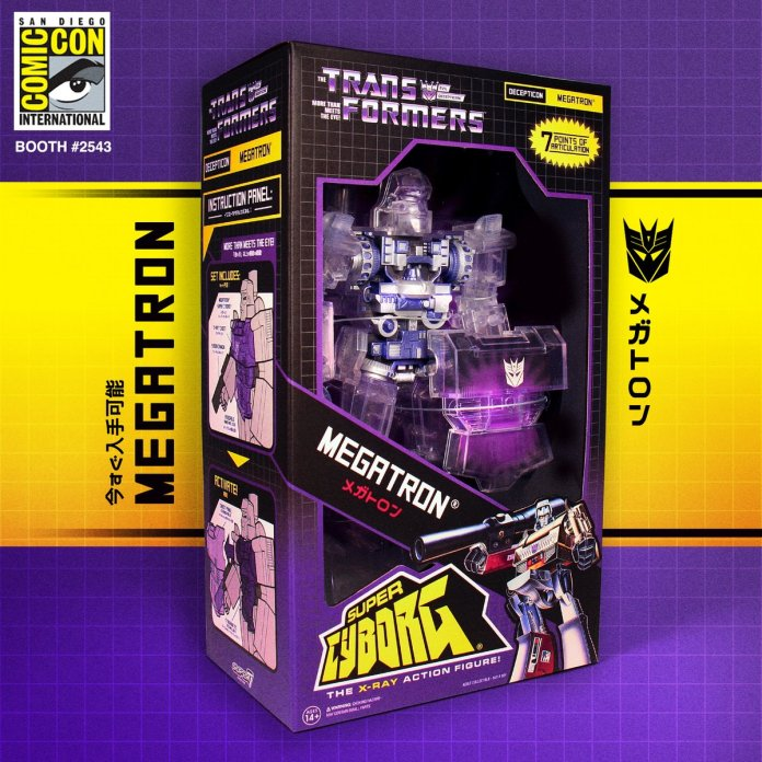 Super Cyborg Megatron Packaging