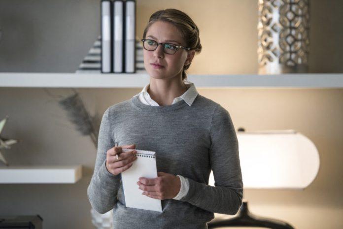 Melissa Benoist as Kara in The CW's Supergirl
