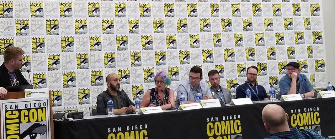 Business of Comics panel