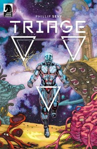 Triage #1 main cover art by Phillip Sevy
