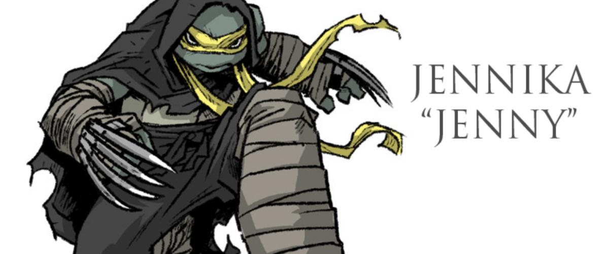 Meet The New Female Teenage Mutant Ninja Turtle Jennika The Beat