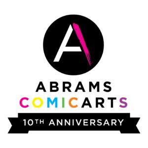 Abrams ComicArts 10th anniversary logo