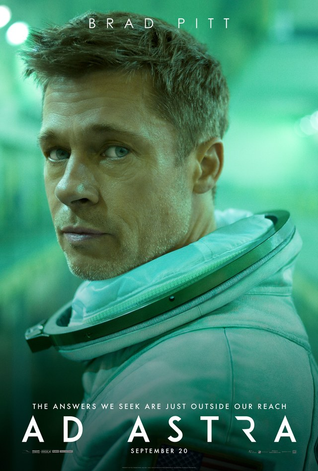 AD ASTRA: Brad Pitt goes looking for Daddy in space in latest trailer and poster