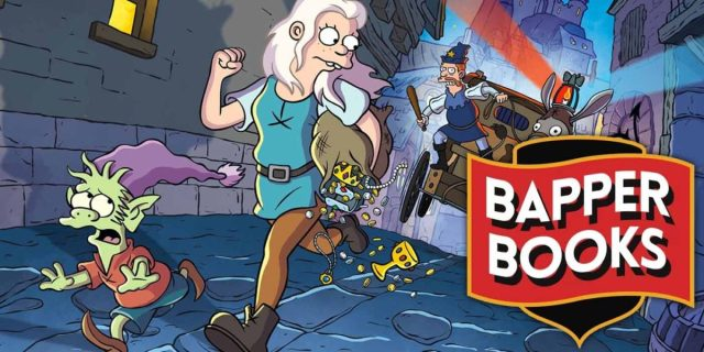 SDCC '19: DISENCHANTMENT: UNTOLD TALES is a bold introduction to Bapper Books