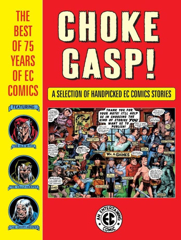 SDCC '19: Dark Horse to celebrate 75 years of EC Comics with 528-page hardcover 'CHOKE GASP!'
