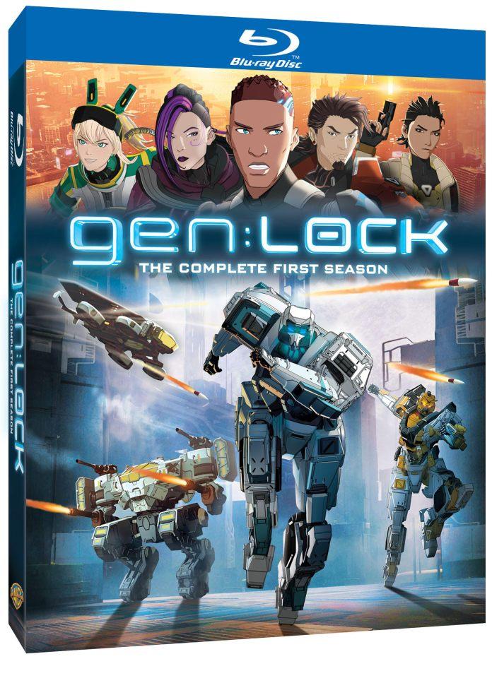 gen:LOCK – The Complete First Season Digital/Blu-ray release