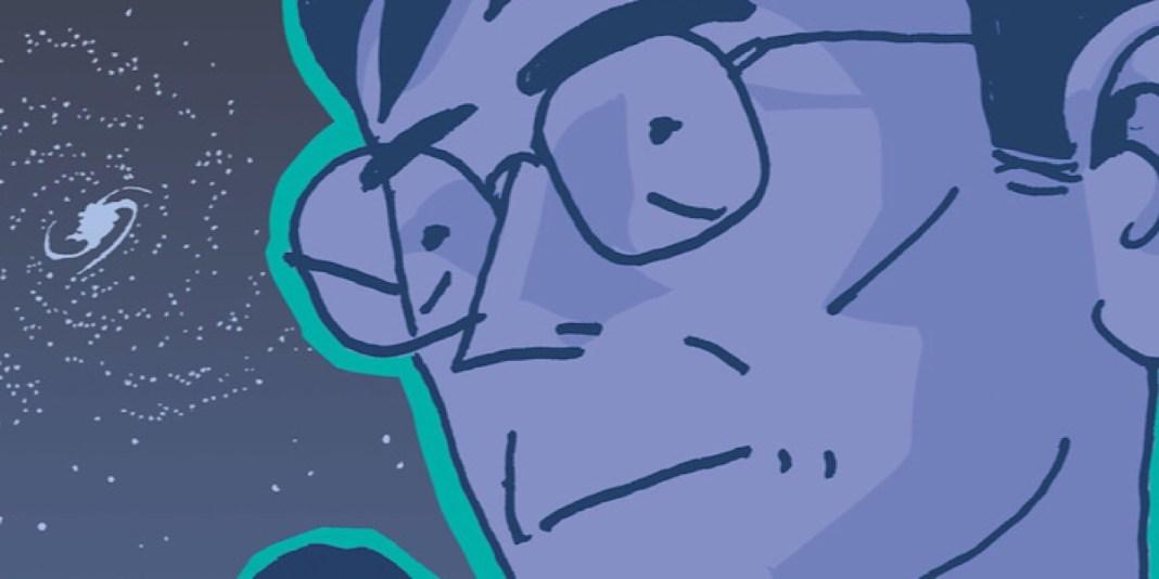 Jim Ottaviani Hawking cover
