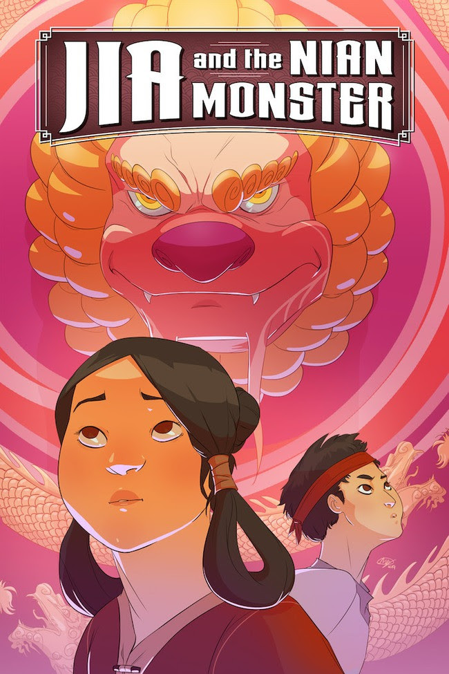 Jia and the Nian Monster cover art