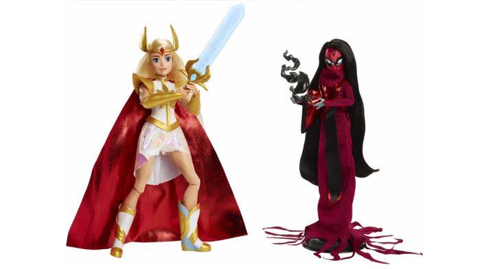 She-Ra vs Shadow Weaver Mattel dolls
