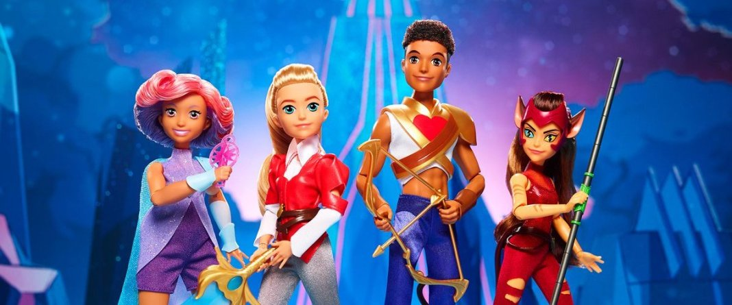 Mattel x She-Ra dolls