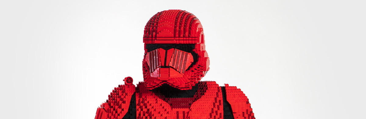 SDCC '19: Lego unveils epic lifesize Episode 9 Sith trooper - Comics
