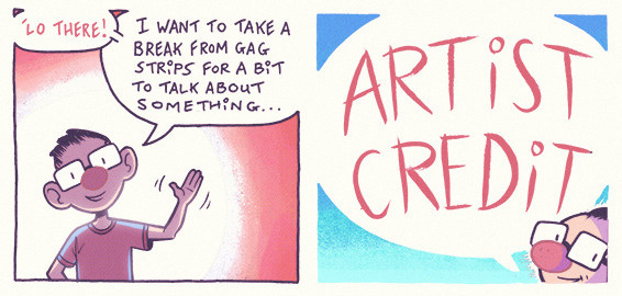writing for your artist credit