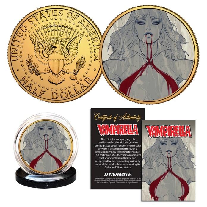 Vampirella coins