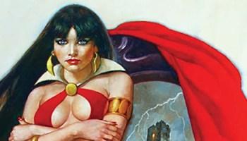 Vampirella Blank Comic Book