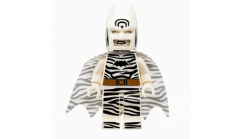 Lego Zebra Batman premiering at SDCC 2019