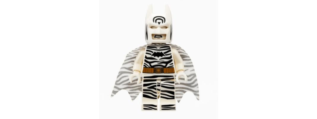 Lego Zebra Batman premiering at SDCC 2019