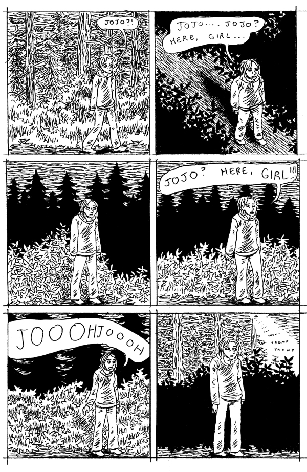 gabrielle bell july comics 1