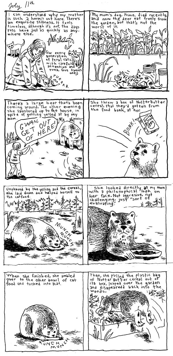 gabrielle bell july comics 2