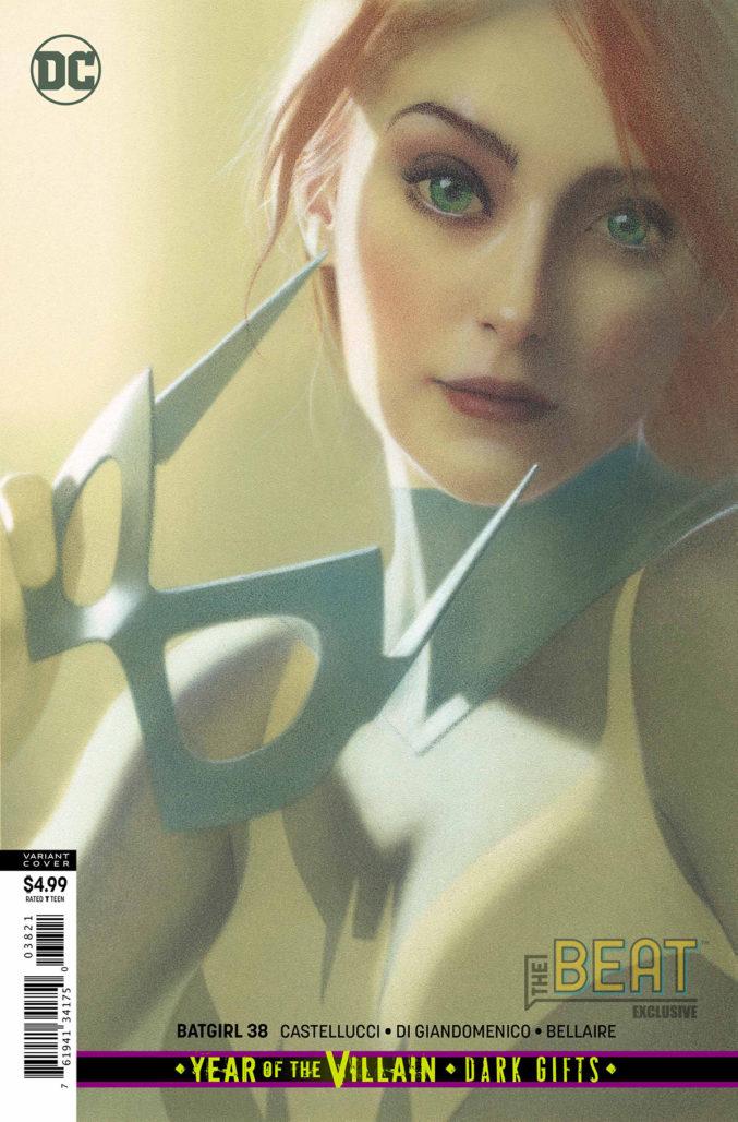 Batgirl #38 variant cover