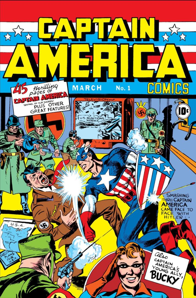 Captain America #1 missing from Marvel Comics #1000