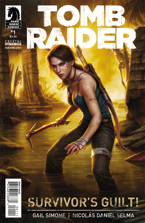 video game art books tomb raider