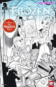 Dark Horse November 2019: Disney Frozen: True Treasure #1 (of 3)