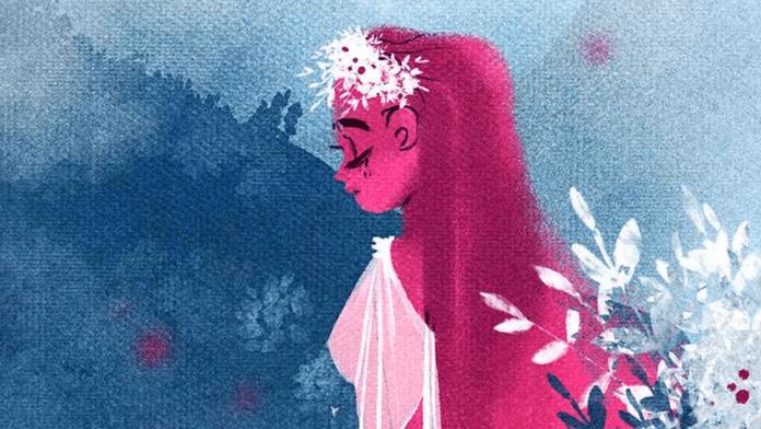 Persephone in Lore Olympus